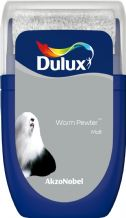 Dulux Warm Pewter emulsion tester